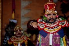 Танец Ramayana в Ubud, Бали, Индонезии стоковые изображения rf