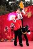 танец yangge стоковые фото