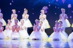 Танец Yulan магноли-чисто Анджел-китайский классический Стоковая Фотография