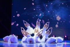 Танец Yulan магноли-чисто Анджел-китайский классический Стоковые Фото