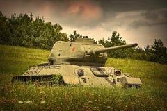 Танк Второй Мировой Войны стоковые изображения rf