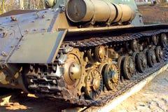 Танк гусеницы. стоковое изображение rf