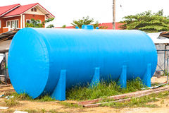 Танк обработки сточных водов Стоковые Фото