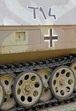 Танк от Второй Мировой Войны Стоковые Изображения RF