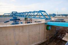 Танк продукции Waterworks в конструкции на indu suppies воды Стоковое Фото