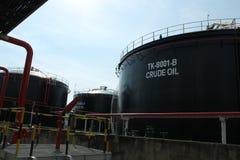 Танк сырой нефти Стоковая Фотография RF