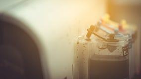 Танк чернил и свет солнца Стоковые Изображения RF