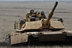 Танк Abrams A1M1 США Стоковые Изображения RF