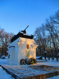 Танк, Kamenets Podolskiy, Украина Стоковые Изображения RF