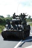 Танк M4 Шермана Стоковая Фотография