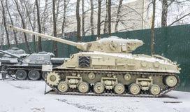 Танк M50 (M4A3) Стоковая Фотография RF