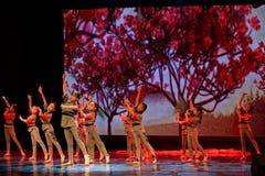 Танца ` s детей испытания академии танца Пекина корпусов ` s детей сортируя выставка Цзянси достижения выдающего уча стоковые изображения rf