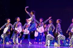 Танца ` s детей испытания академии танца Пекина newsboys сортируя выставка Цзянси достижения выдающего уча стоковое изображение