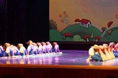 Танца ` s детей испытания трудовой академии танца Пекина славы сортируя выставка Цзянси достижения выдающего уча Стоковые Изображения