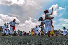 Танцевать ацтеков стоковая фотография rf