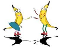 танцевать бананов Стоковая Фотография