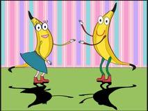 танцевать бананов Стоковое Фото