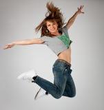Танцевать в воздухе Стоковая Фотография