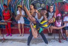 Танцевать в Гаване Кубе Стоковое фото RF
