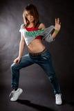 Танцевать в темноте Стоковые Фотографии RF