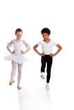 танцевать детей межрасовый Стоковая Фотография