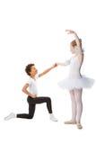 танцевать детей межрасовый Стоковое Изображение RF