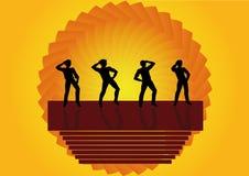 танцевать мальчиков Стоковые Фотографии RF