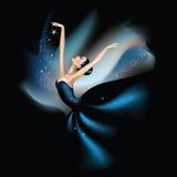 Танцевать с звездами иллюстрация штока
