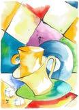 танцевать чашек Стоковое Изображение