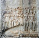 танцевать apsaras Стоковое Изображение