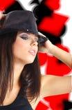 танцовщица казино стоковые фото