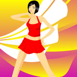 танцовщица Стоковое фото RF