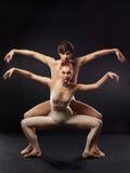 танцоры балета Стоковые Фотографии RF