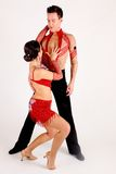 танцоры бального зала стоковое фото rf