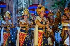 Танцоры Бали Стоковые Изображения RF