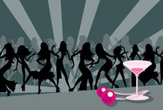 танцоры вишни Стоковое Фото