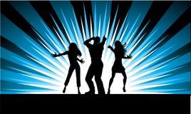 танцоры в стиле фанк Стоковое Изображение