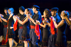 танцоры греческие стоковая фотография rf