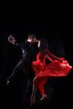 танцоры действия стоковое фото rf