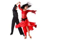 танцоры действия Стоковые Изображения RF