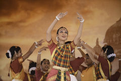 Танцоры Индии стоковое фото rf