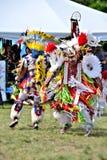 Танцоры коренного американца Стоковая Фотография