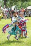 Танцоры коренного американца Стоковое фото RF