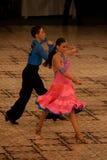 танцоры латинские Стоковое Изображение