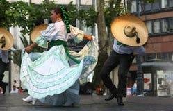 танцоры мексиканские Стоковое Изображение