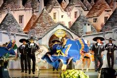 танцоры мексиканские Стоковая Фотография RF