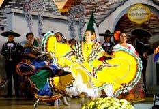 танцоры мексиканские Стоковые Изображения RF