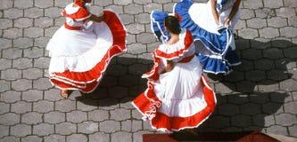 танцоры мексиканские Стоковое фото RF