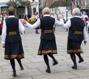 Танцоры Морриса стоковая фотография