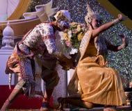 танцоры тайские Стоковые Фотографии RF